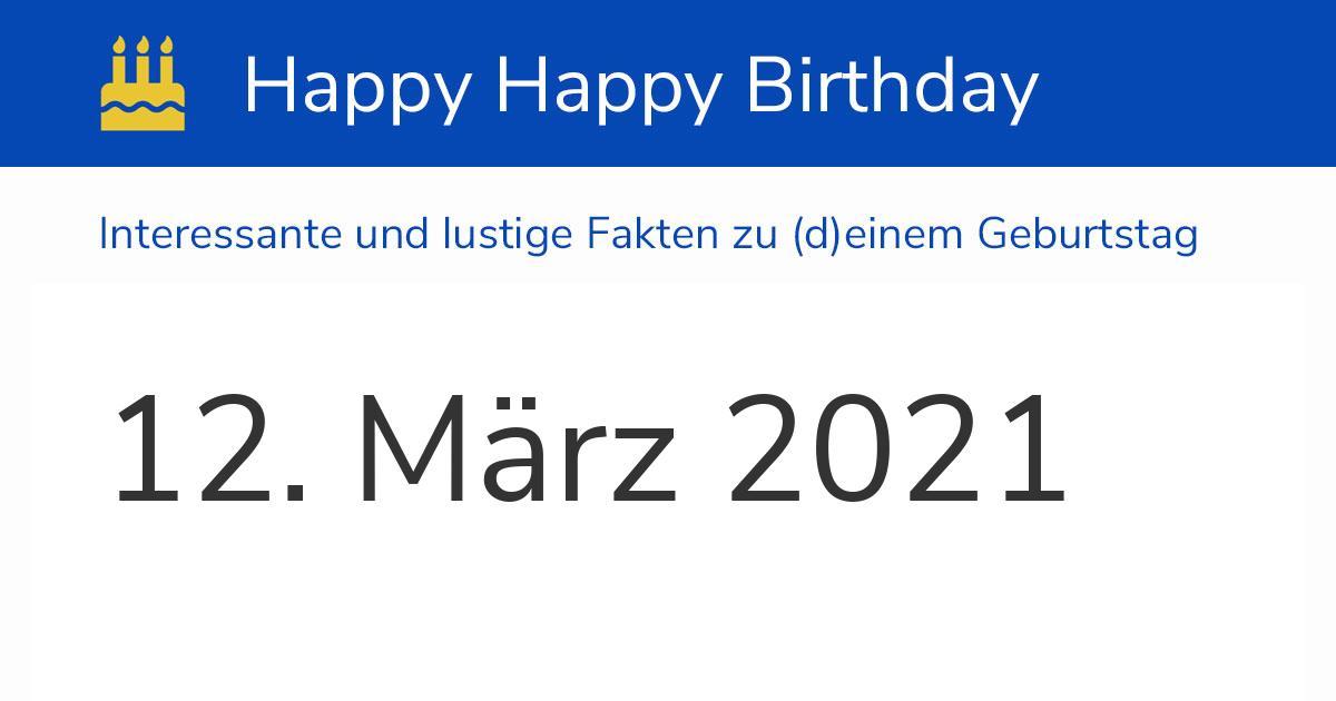 Wow Geburtstag 2021